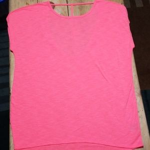 Xersion back detail tunic, relaxed fit